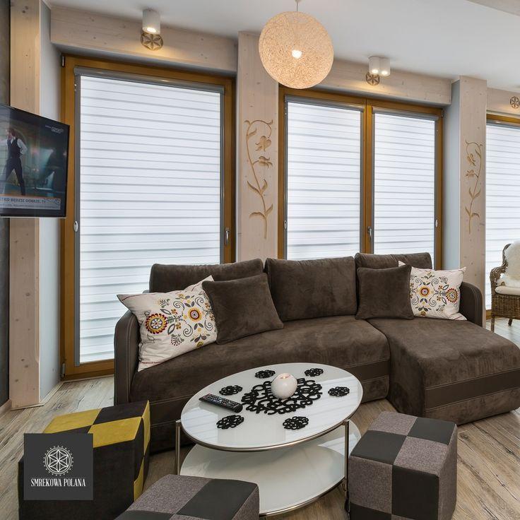 Apartament Halny - zapraszamy! #poland #polska #malopolska #zakopane #resort #apartamenty #apartamentos #noclegi #livingroom #salon