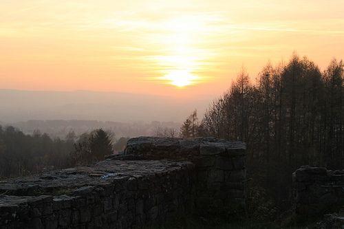 sunset in Tarnów