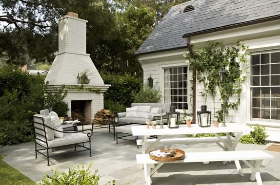 The epitome of a perfect patio.