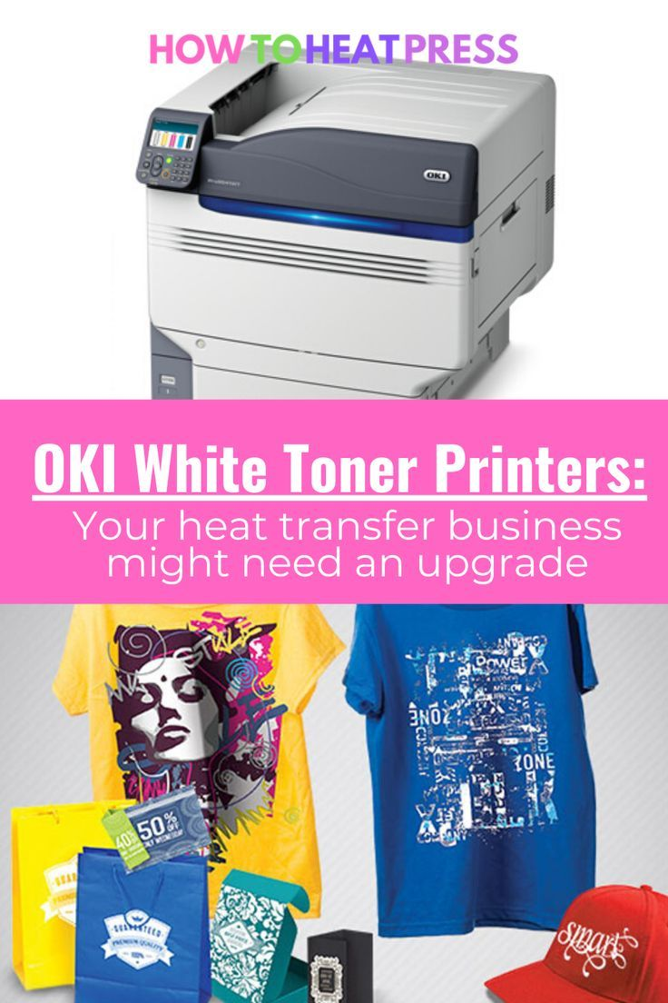 Is The Oki White Toner Printer Worth It An Oki Review In 2020 Heat Transfer Vinyl Projects Heat Transfer Vinyl Shirts Heat Transfer Vinyl Tutorial Cricut