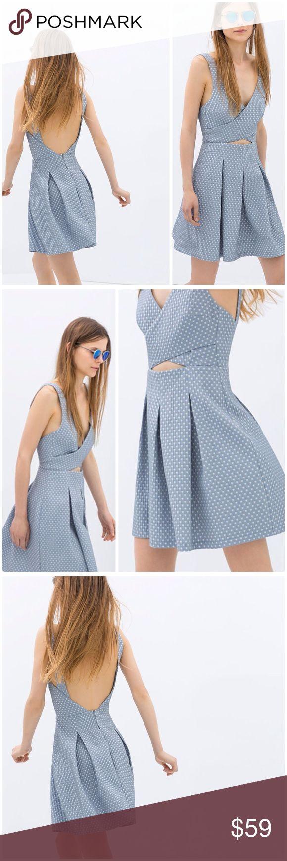ZARA dress new with tag. Beautiful dress from ZARA. Size XS brand new with tag. Zara Dresses Mini