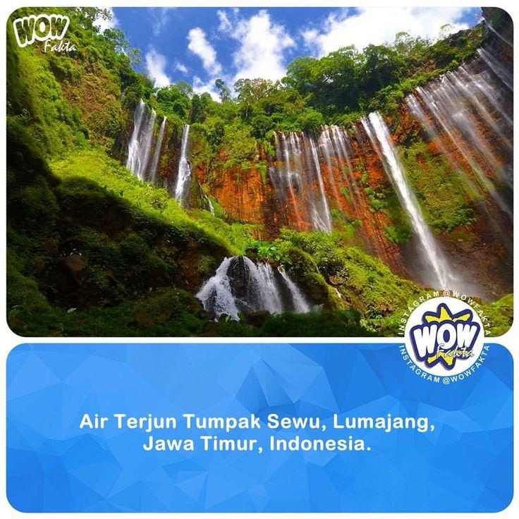 Air Terjun Tumpak Sewu, ada juga yang menyebut Coban Sewu atau Grojogan Sewu secara administratif terletak di aliran sungai Glidih yang menjadi perbatasan kecamatan Ampel Gading Malang dan kec. Pronojiwo Lumajang.