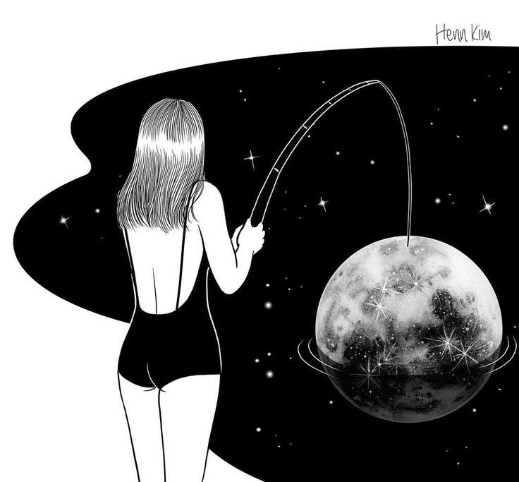 ты космос черно белые картинки