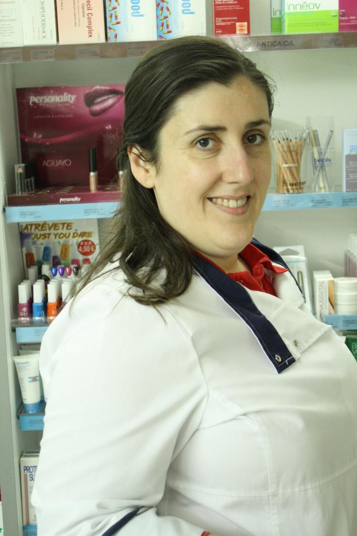 Esta soy yo en la farmacia :-)