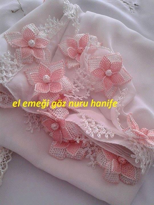 Turlish needle lace Oya