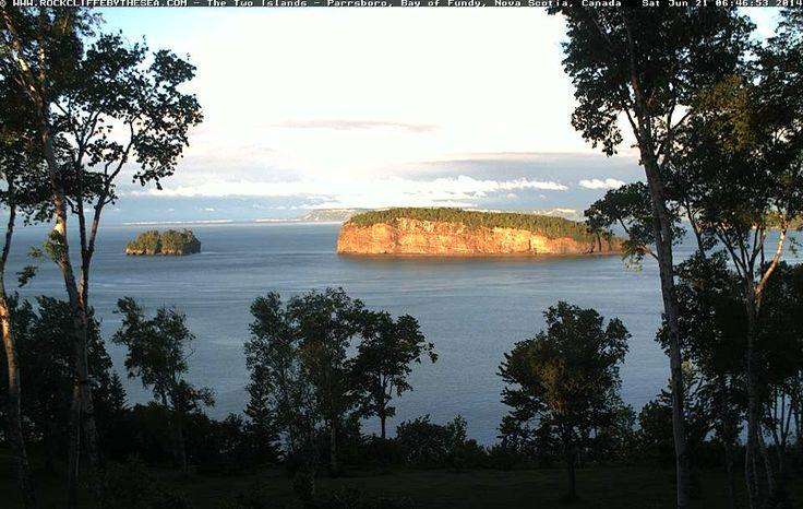 Nova Scotia Webcams - Rockcliffe by the Sea   Rockcliffe by the Sea, Parrsboro