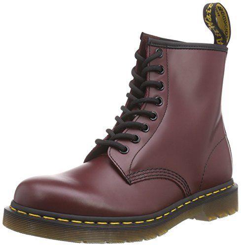 Dr. Martens 1460Z DMC SM-CR 11822600, Boots mixte adulte - Rouge-TR-C1-33, 40 EU