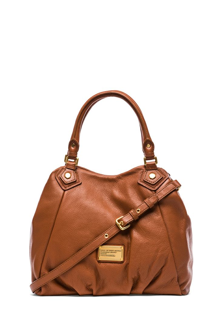 Marc by Marc Jacobs Classic Q Fran in Smoked Almond
