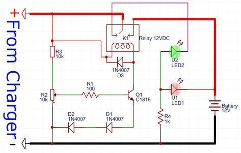 B B Df Fe Da C F A on Automatic Battery Charger Circuit Diagram