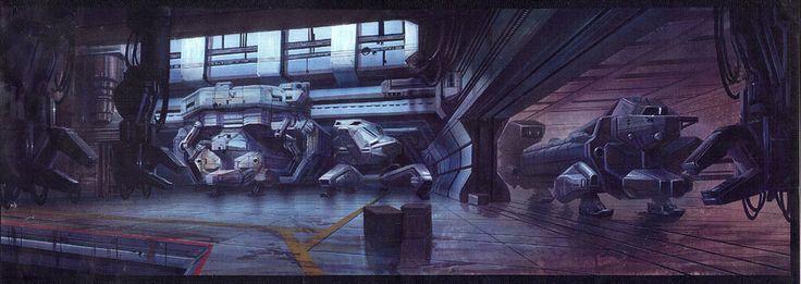 Titan AE concept painting by ~DavidRabbitte on deviantART