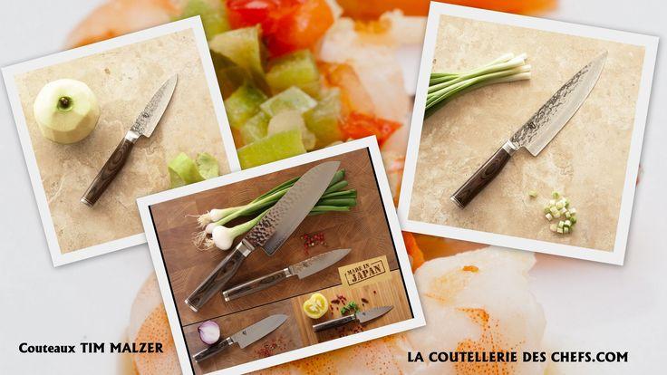 Pour retrouver toute la gamme de la série TIM MALZER cliquez sur l'image ci-dessous : http://la-coutellerie-des-chefs.com/kai-shun-premier-tim-malzer-couteau-japonais-c-218_223.html