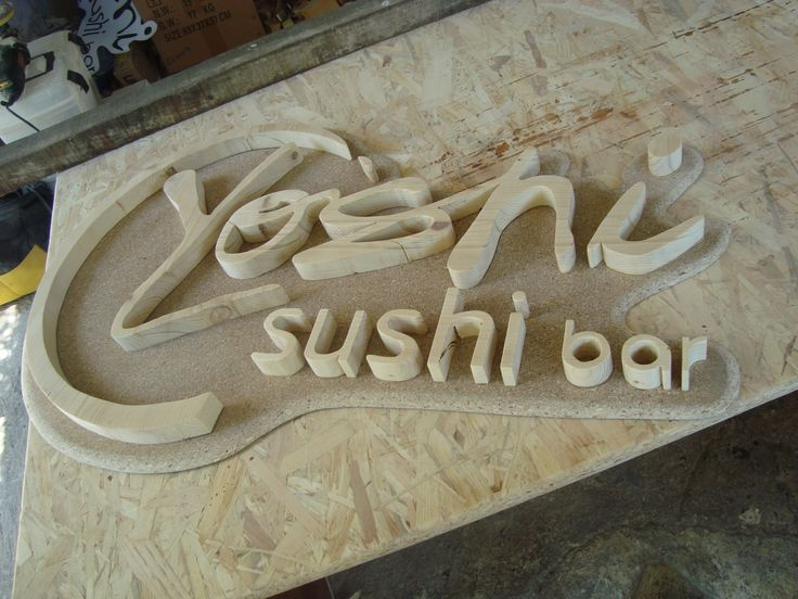 wooden sign by handmade-sa...