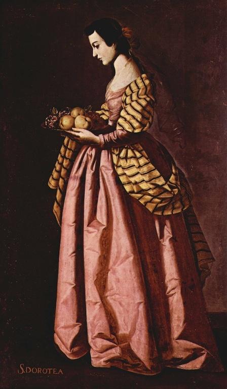 Francisco de Zubarán (Spain, 17th Century) Paintings of Female Saints