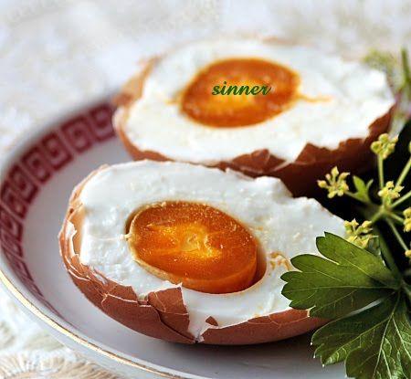 Salting Chicken Eggs with Brine solution