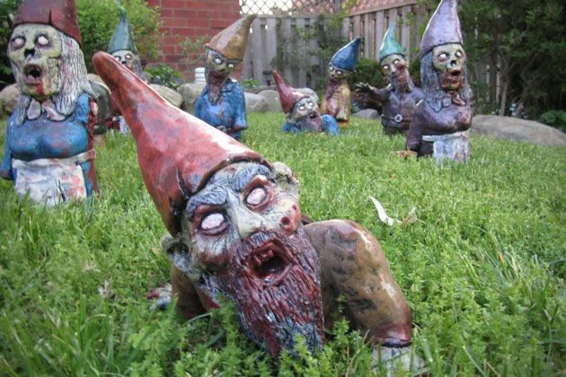 Gnombies Garden: 7 Badass Garden Gnomes To Protect Your Front Lawn