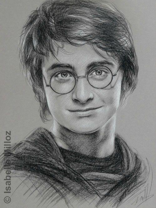 Porträt von Daniel Radcliffe, alias Harry Potter