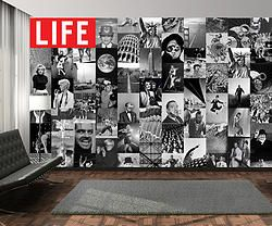 Life Creative Collage Wallpaper