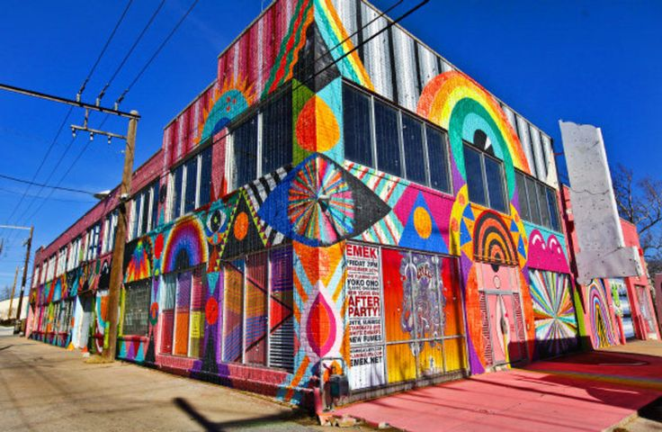 """Flaming Lips' """"The Womb"""" Was A Psychedelic Art Gallery In Oklahoma City"""