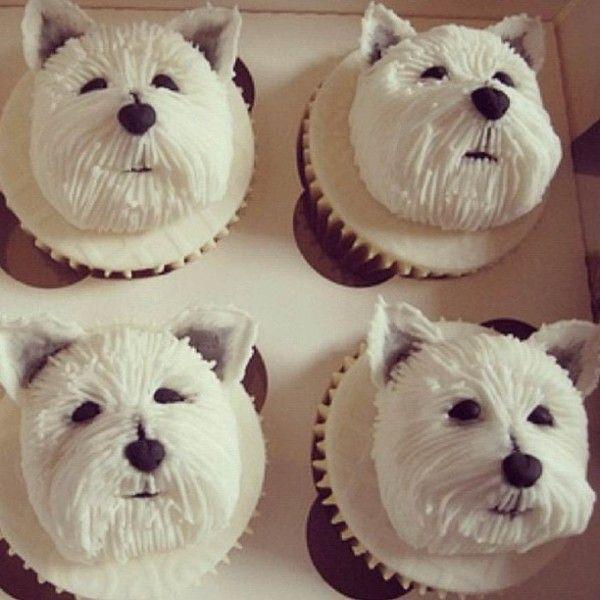 cute Dog Cupecake recipes