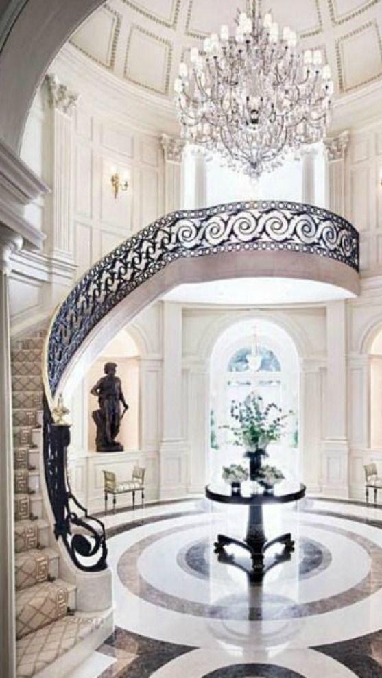 Foyer Luxury Uk : Foyer staircase beautiful and prom photos on pinterest