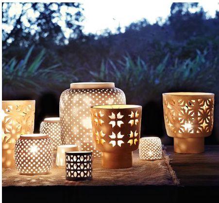 Is it summer yet? >> Pretty patio lanterns, starting at $8 - @Elaine Foley Magazine