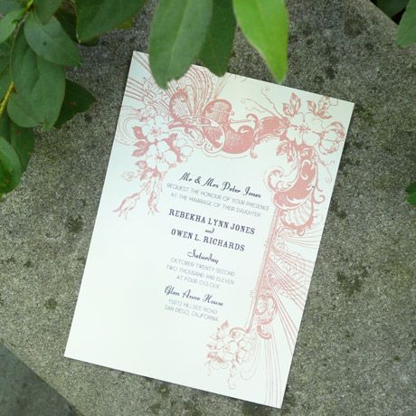 Invitation Template  Square Vintage Carnival Invitation  Vintage