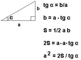 * Площадь прямоугольного треугольника равна 183√3. Один из острых углов равен 60°. Найдите д :: Математика / Русский язык 9 класс :: МАТЕМАТИКА