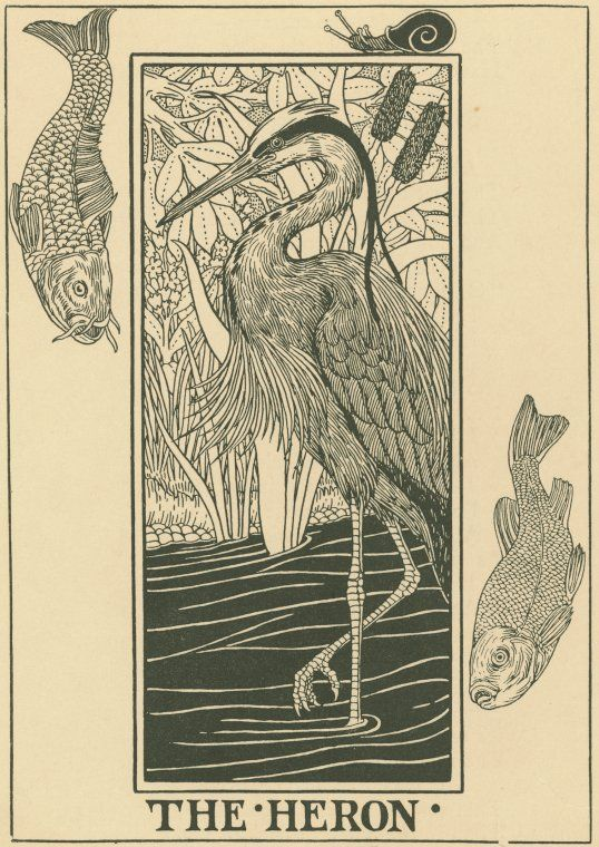 Percy J. Billinghurst, The Heron, 1900