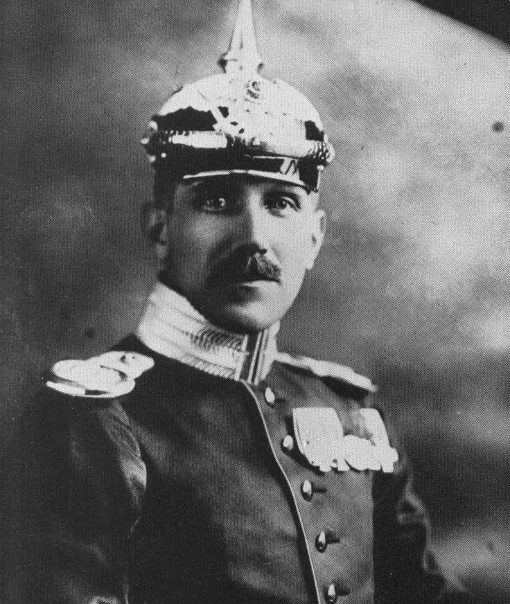 German military attaché to the United States Franz von Papen, 1914