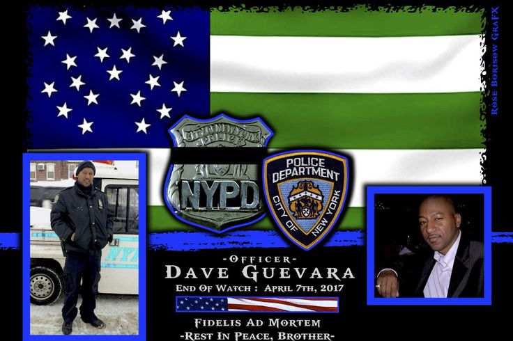 Another one of New York City's finest police officers has passed away. Officer Dave Guevara, 45, assigned to the 70th Precinct in Brooklyn died suddenly due to what is suspected to be a cancer that is related to his service at Ground Zero following the World Trade Center attacks.  http://www.lawenforcementtoday.com/memoriam-officer-dave-guevara/