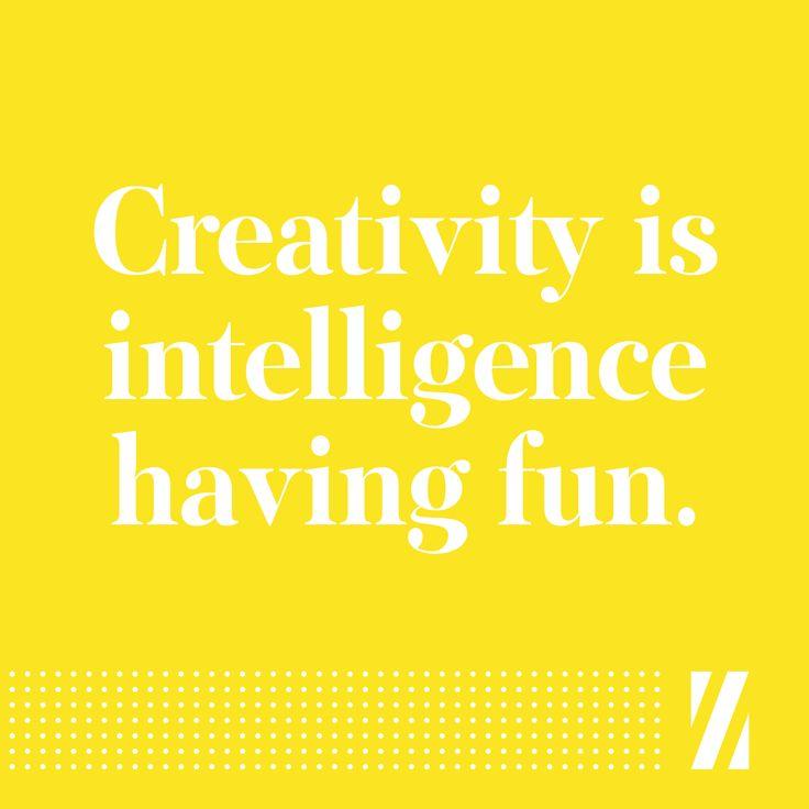 #creativity #intelligence #fun