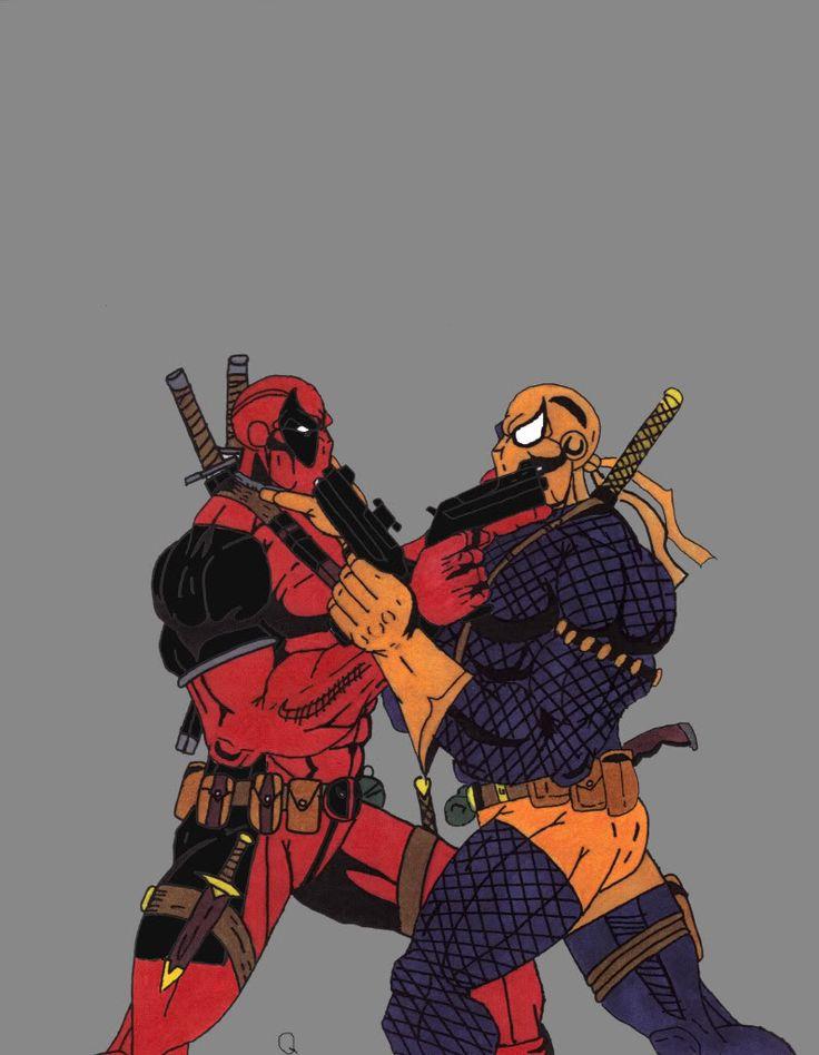 Deadpool vs Deathstroke | Deadpool vs. Deathstroke - Digital Webbing Forums