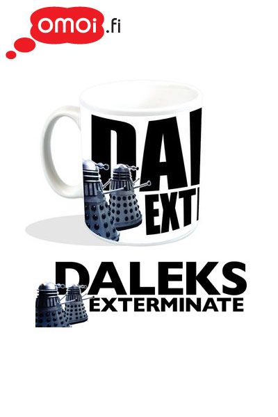 Doctor Who Darleks Exterminate Mug - 10,00EUR : Manga Shop for Europe, A great selection of anime products
