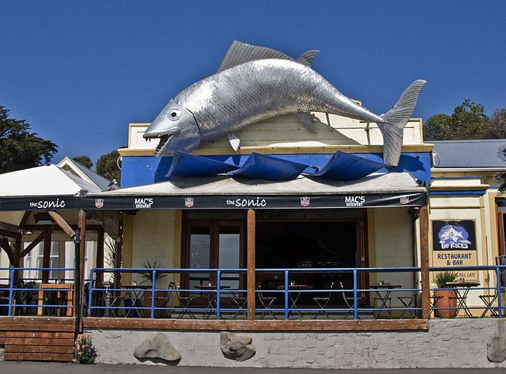 Magic signage in Kaikoura,  see more at New Zealand Journeys app for iPad www.gopix.co.nz