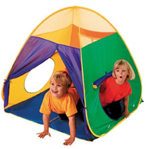 Schylling Green u0026 Blue Mega Pop-Up Tent  sc 1 st  Pinterest : pop up tent play - memphite.com