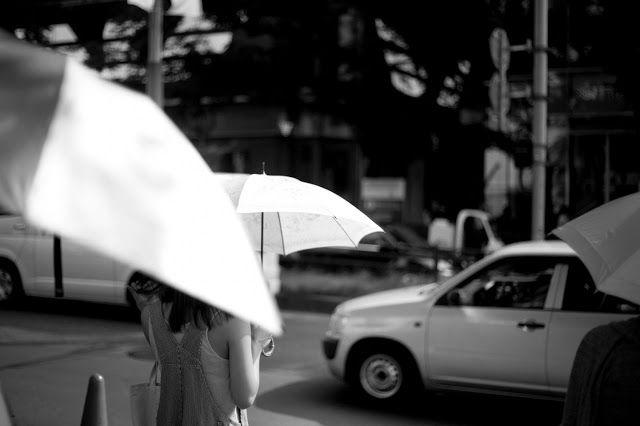 Umbrella, city, street, sun, tokyo, 2013, walk, Photo Alberto Strada