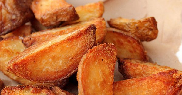 extra crispy potato wedges | Cosas que adoro | Pinterest | Crispy potatoes, Crispy potato wedges and Wedges