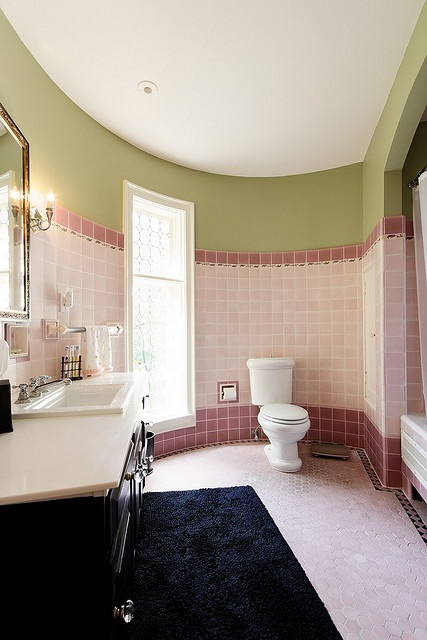 color pallet for my new bathroom vintage pink tile wsage anyone
