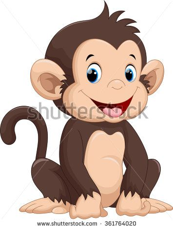 Cute monkey cartoon                                                                                                                                                                                 More