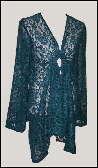 Kanten blouse/tuniek
