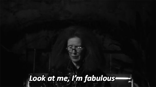 """When she stated an obvious fact. 