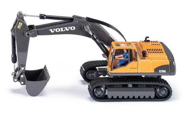 Volvo EC 290 Excavateur hydraulique - CHANTIER / GRUES - SIKU SUPER