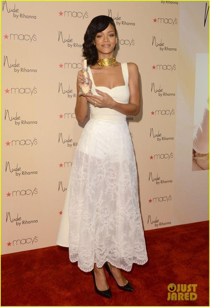 'Nude by Rihanna' Fragrance Launch