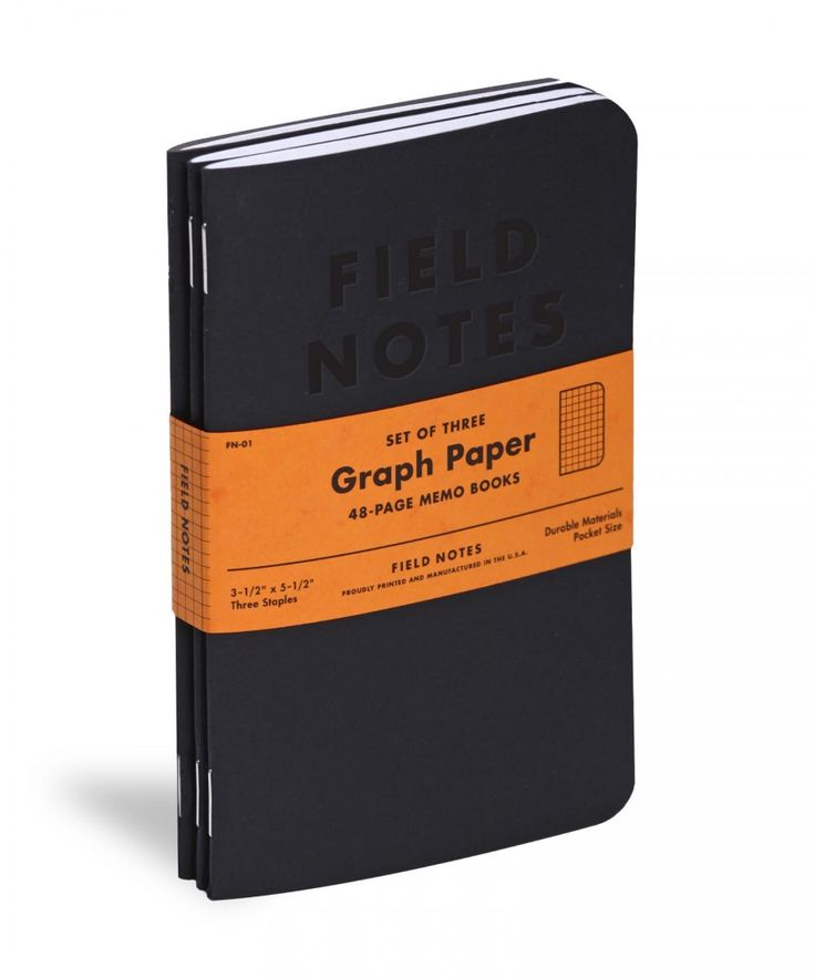 Field Notes Brand is a collection of smartly-designed, vintage-styled pocket notebooks, calendars, and various office accoutrements.