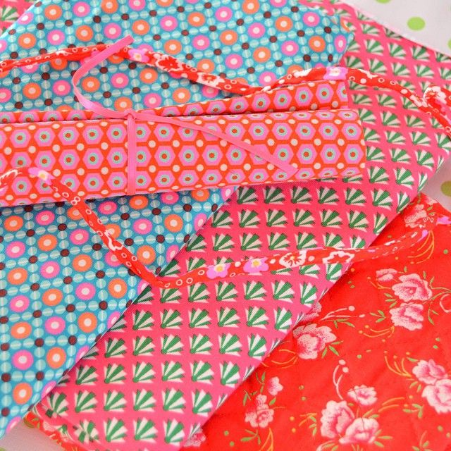 """""""I bought very pretty fabrics at the Handwerkbeurs last week. So I will do some sewing today  #sewing #petitpan"""""""
