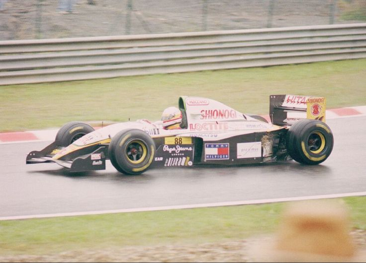 1994 GP Belgii (Spa Francorchamps) Lotus 109 - Mugen Honda (Philippe Adams)