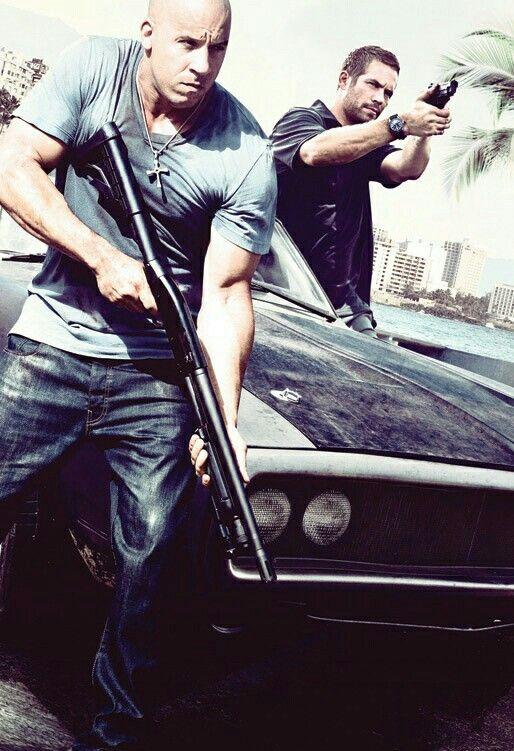 Vin Diesel and Paul Walker.💗💖💟💜❤💙💚💛
