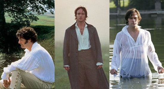 mmm ... Mr Darcy in any form : )  . . . I like Colin Firth the best.