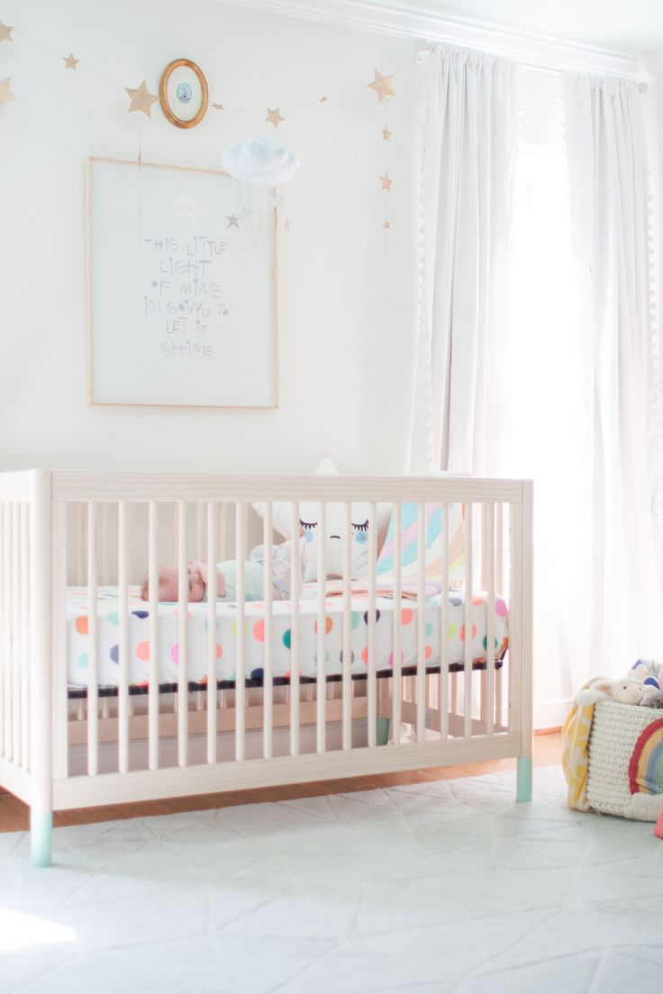 Pastel Nursery avec Star Accents