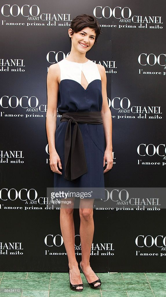 French actress Audrey Tautou promotes the film 'Coco Avant Chanel' at Hassler Hotel on May 6 2009...